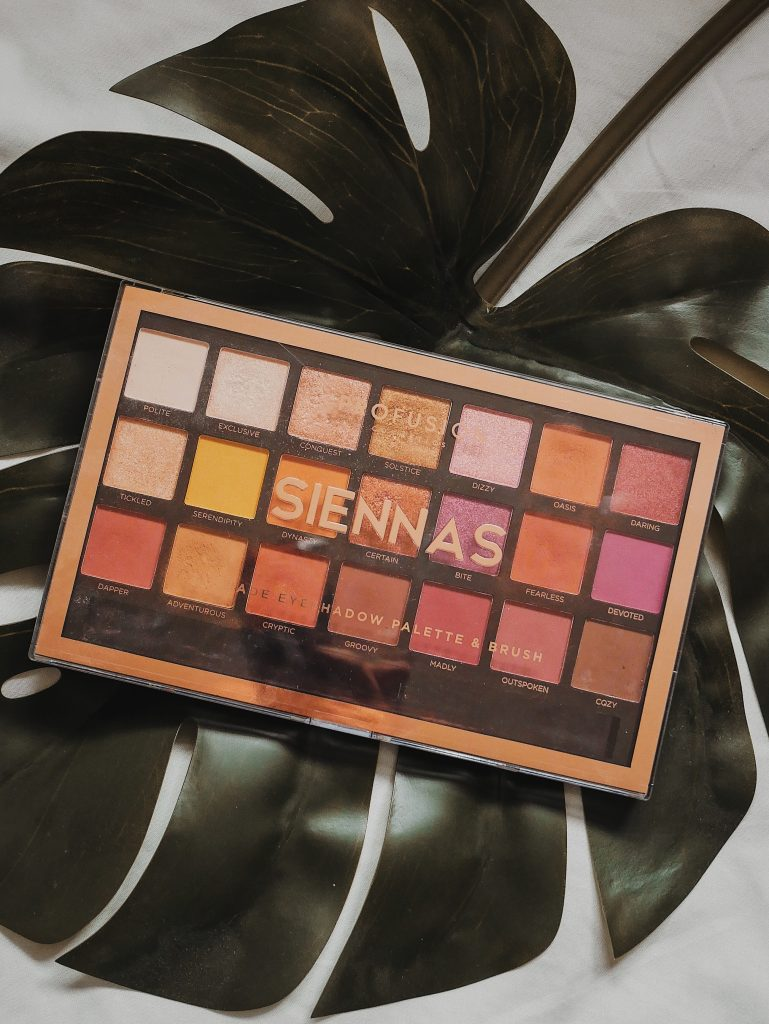 profusion Sienna makeup palette