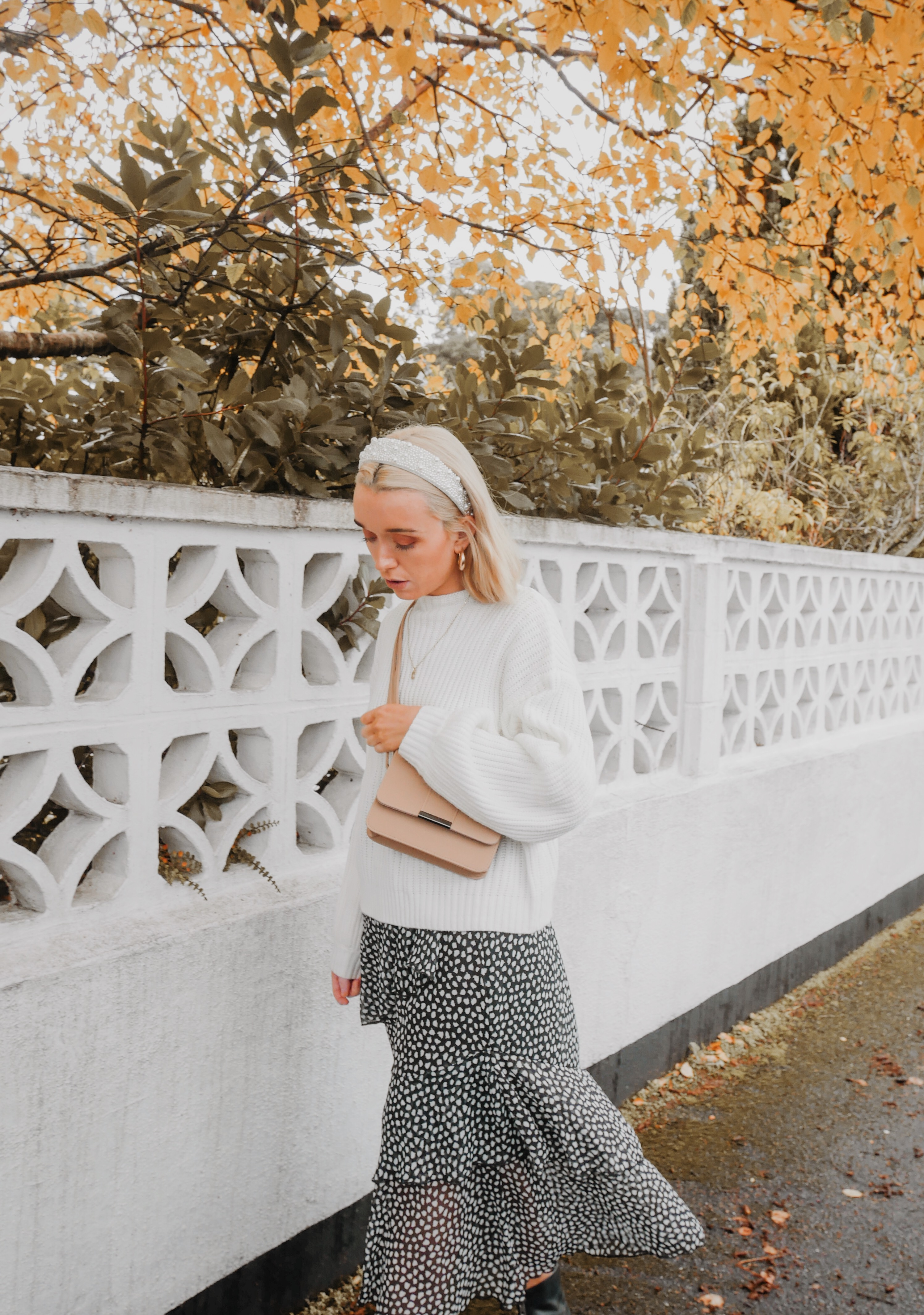The Tiered Skirt Trend